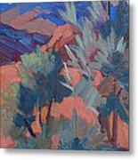 Afternoon Light - Santa Rosa Mountains Metal Print