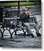Afternoon Music Metal Print