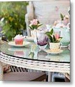 Afternoon Tea And Cakes Metal Print