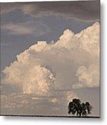 Afternoon Thunderstorm Building East Boulder County Co Plains Metal Print