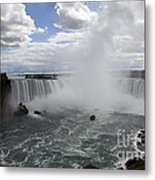 Against The Current Metal Print