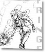 Agent Dunham Metal Print by Big Mike Roate