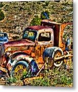 Aging Truck Metal Print