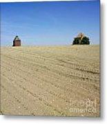 Agricultural Landscape. Limagne. France Metal Print