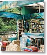 Agua Calientes Bar Metal Print