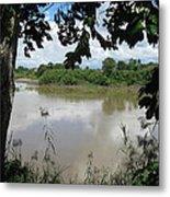 Agusan River Near Ja Pao Metal Print