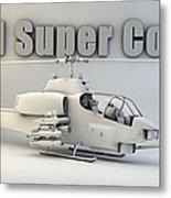 Ah-1 Super Cobra Metal Print