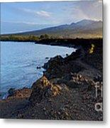 Ahihi Preserve And Haleakala Maui Hawaii Metal Print