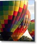 Air Balloon Last Call Metal Print