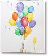 Air Balloons Metal Print