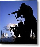 Air Force Security Forces Personnel Metal Print