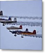 Air Show Flyover Metal Print