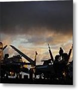 Aircraft Carrier Metal Print by Ahp