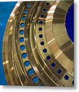 Aircraft Engine Component Metal Print