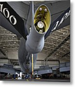 Airman Hand-washes The Centerline Metal Print