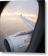 Airplane Engine Metal Print by Shannon Fagan