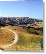 Airplane Hill Metal Print