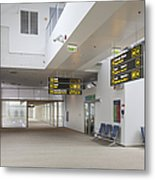 Airport Concourse Metal Print