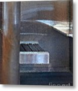 Airport Cubical Metal Print
