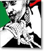 Aisha Jamaica Metal Print by Naxart Studio