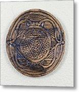 Ajna Third Eye Chakra Plate Metal Print