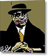 Al Capone Full Color Metal Print