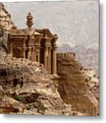 Al-deir (monastery) Metal Print by Cute Kitten Images