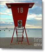 Ala Moana Lifeguard Station Metal Print