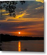 Alabama Sunset Metal Print