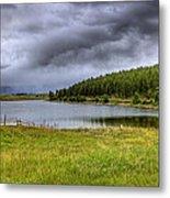 Alaki Lake Near Eureka Metal Print