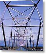Alaska Native Veterans Honor Bridge Metal Print by Yves Marcoux