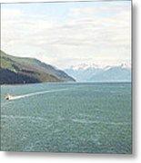 Alaskan Boatride Metal Print