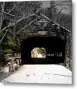 Albany Covered Bridge  Metal Print