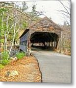 Albany Covered Bridge Metal Print