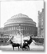 Albert Hall In London - England - C 1904 Metal Print