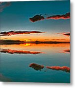 Albufera Panoramic View. Spain Metal Print