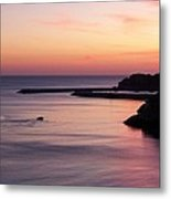 Albuferian Sunset Metal Print