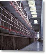 Alcatraz Cell Block Metal Print