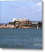 Alcatraz Island In San Francisco California . South Side . 7d14288 Metal Print
