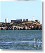 Alcatraz Island In San Francisco California . West Side . 7d14031 Metal Print by Wingsdomain Art and Photography