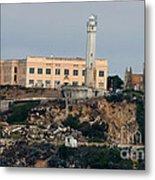 Alcatraz Island Lighthouse - San Francisco California  Metal Print
