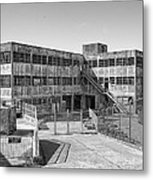 Alcatraz Model Industries Building Metal Print