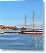 Alcatraz - No Escape Metal Print by Christine Till