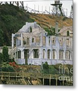 Alcatraz Skeleton Metal Print