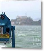 Alcatraz View Metal Print