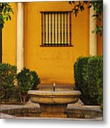 Alcazar Fountain In Spain Metal Print