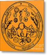Alchemical Symbols, 1670 Metal Print