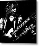 Doubleneck Sketch In Spokane 1978 Metal Print