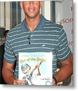 Alex Rodriguez At In-store Appearance Metal Print by Everett