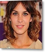 Alexa Chung In Attendance For The 2010 Metal Print by Everett